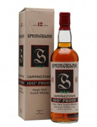 Springbank 12 Year Old / 100 Proof